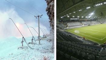 Varingskollen og Telenor Arena