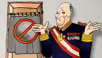Kong Harald har ikke stemmerett