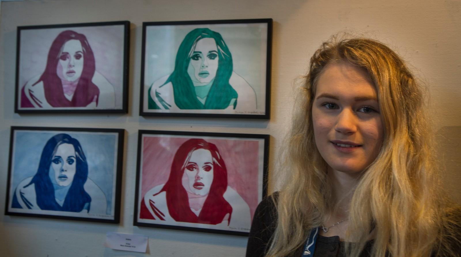 "ÅRDAL: Maia Grøndal - ""Adele"""