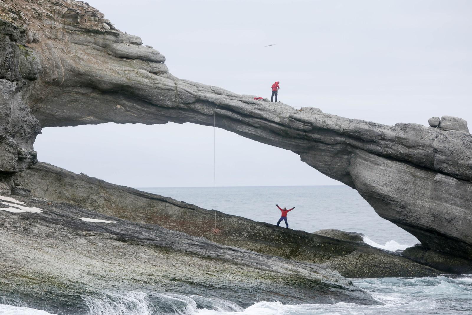Fra Bjørnøya.
