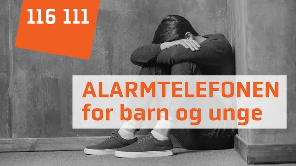 Informasjonsvideo om Alarmtelefonen for barn som har det vanskelig hjemme.