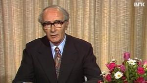 Statsministeren taler: Trygve Bratteli 1976