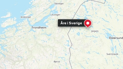 Åre i Sverige