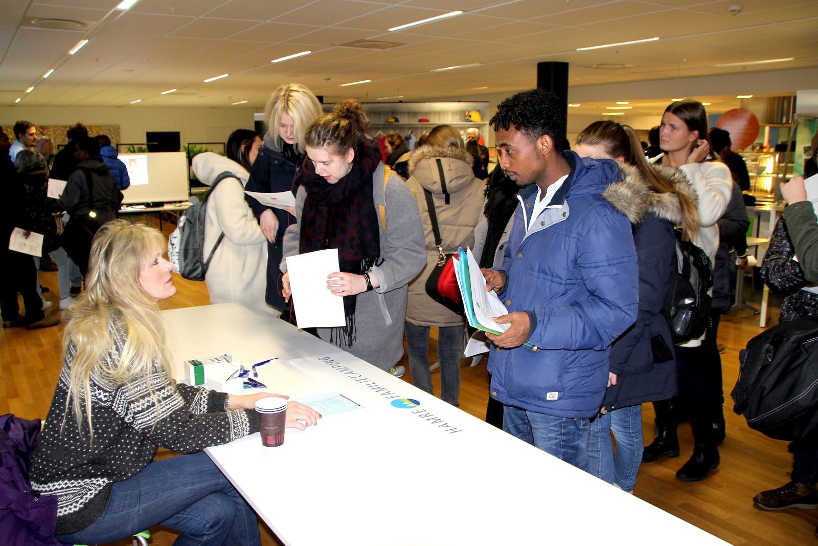 Dyreparken, IKEA, Glencore Nikkelverk, McDonald's, Hamre familiecamping, Scandic dyreparken og Cafe Generalen deltok på dagens messe.