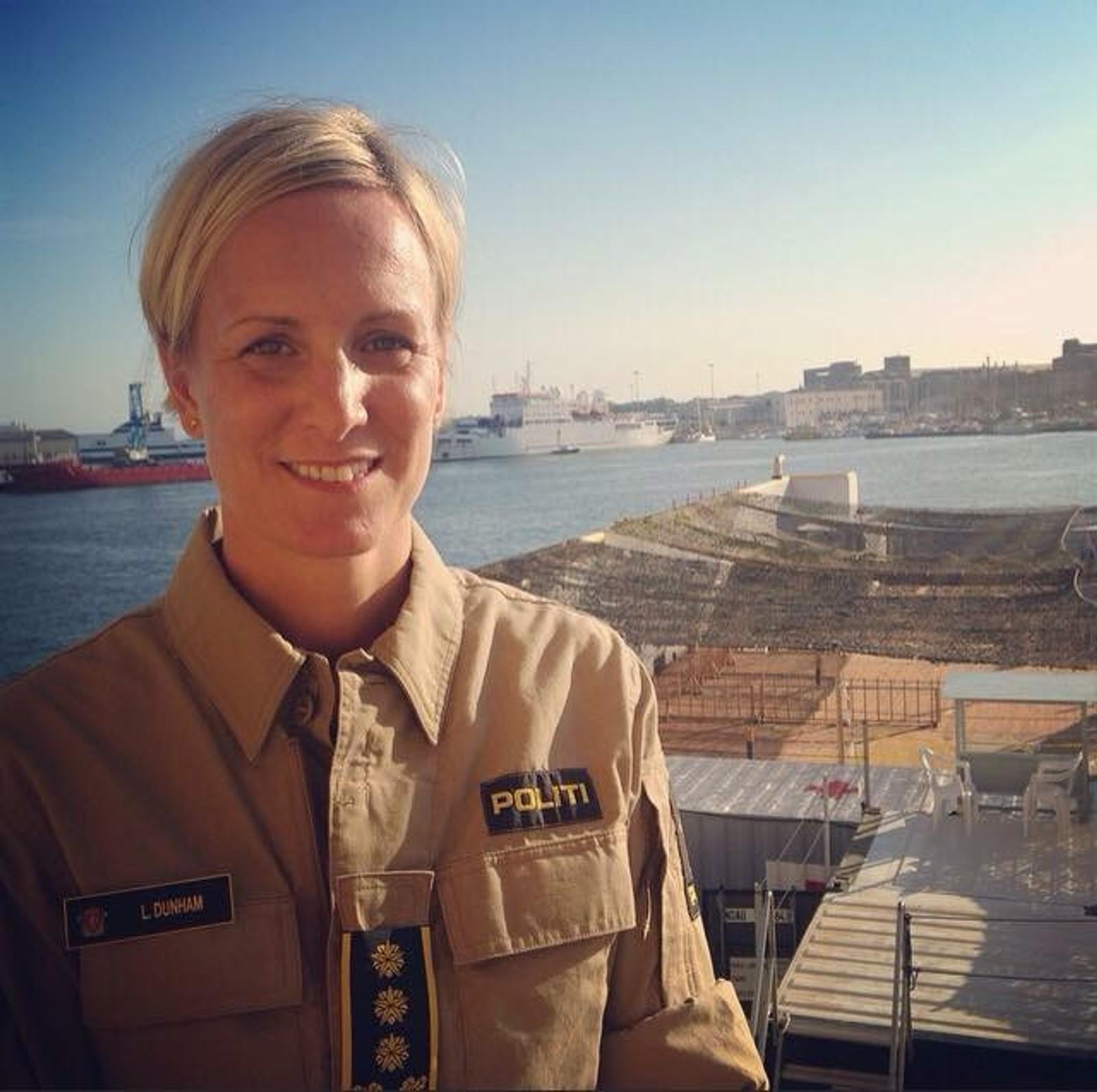 Lise Christin Dunham er styrkesjef for det norske bidraget til Operasjon Triton. -Ett av de mest krevende oppdragene vi har hatt, opplyser Kripos.