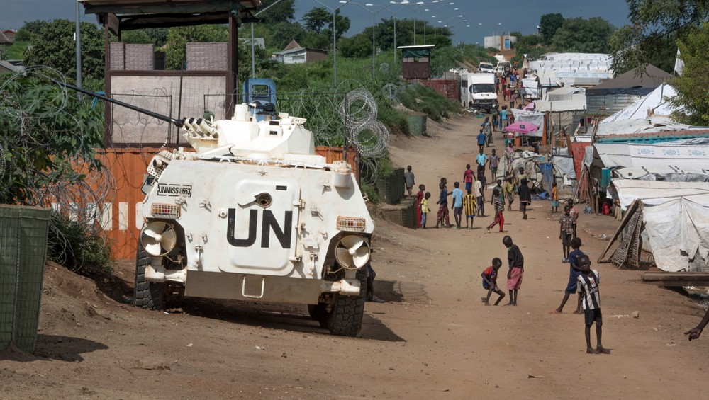 South Sudan Fleeing Peacekeepers