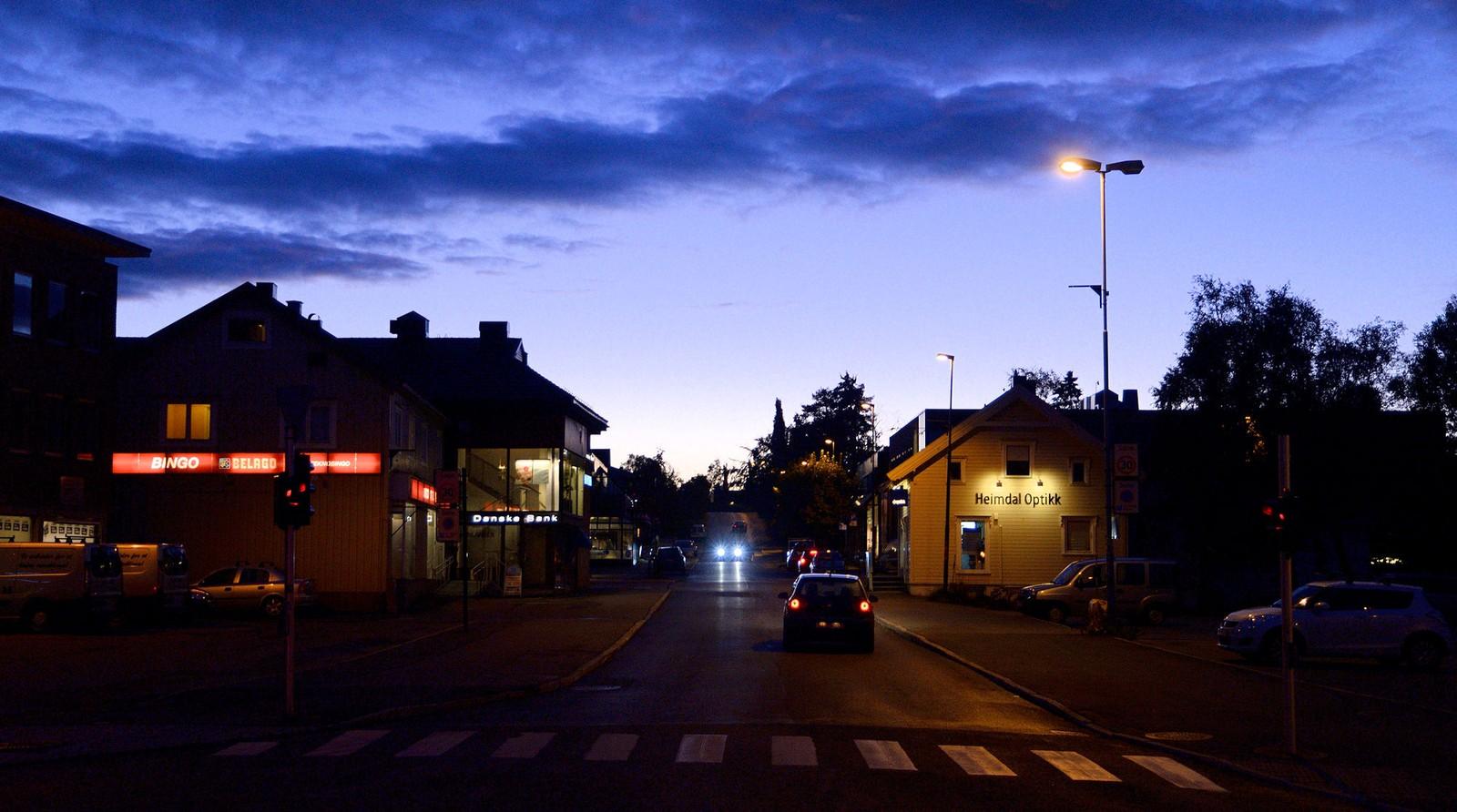 Høstkveld på Heimdal