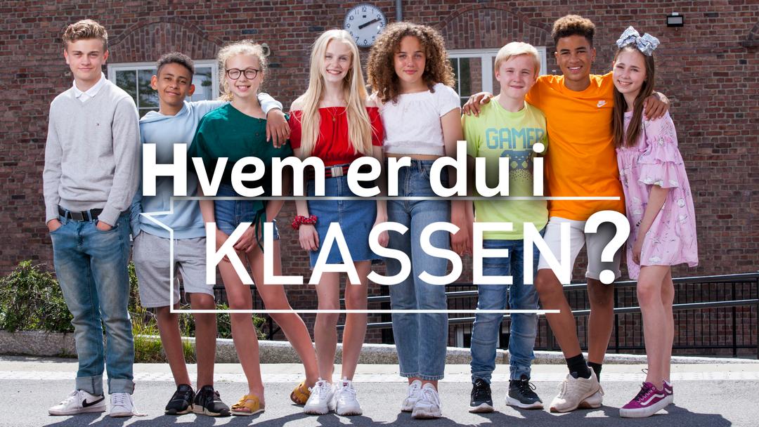 Klassebilde av elever i NRK Super sin drama serien.