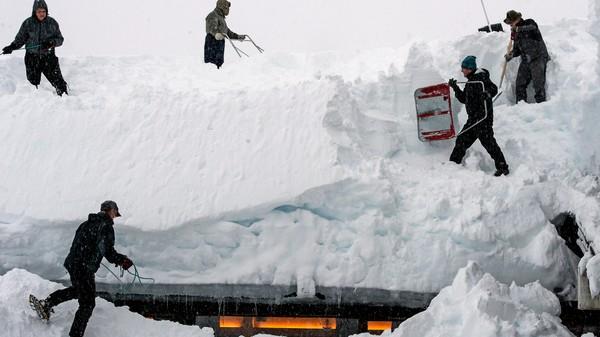 BLIR DET SNØRIK VINTER? Klimaforskarar vil kunne varsle om det blir mild eller kald vinter, og om det blir mykje eller lite snø fleire år fram i tid. Her frå Myrkdalen i Hordaland vinteren 2015.