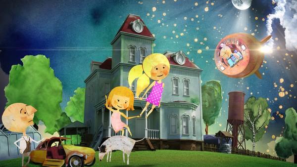 Tsjekkisk animasjon. De syv år gamle tvillingene Rosa og Dara tilbringer sommerferien hos Bestemor og Bestefar.
