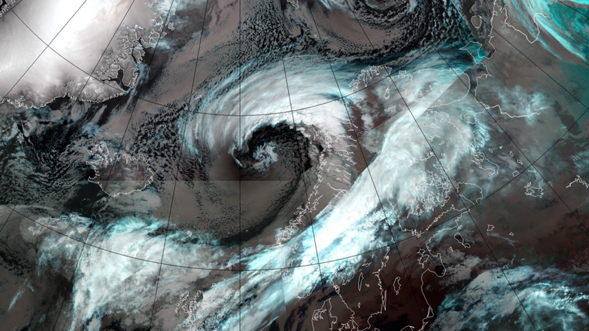 Stormar i Norskehavet