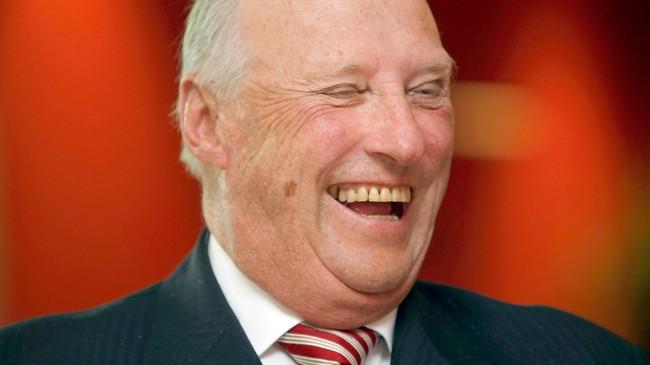 Kong Harald V fyller 75 år. (Foto: Lise Aserud/Scanpix)