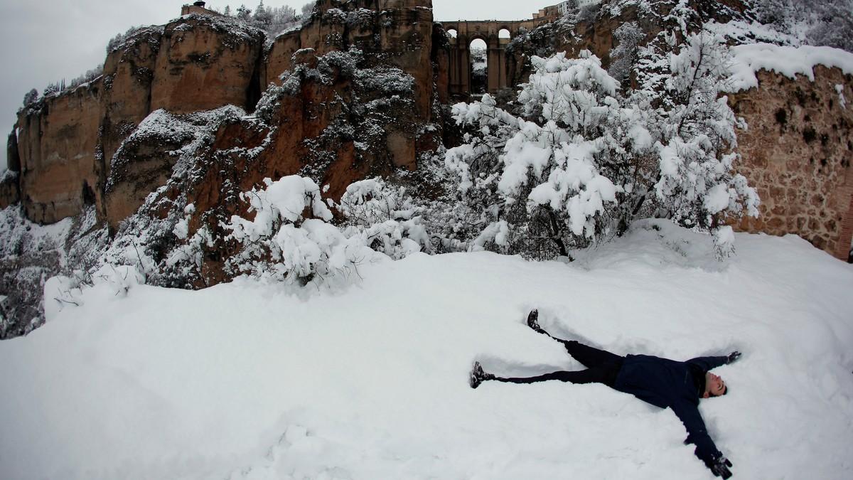 Kvifor fekk Syden snøen i vinter?