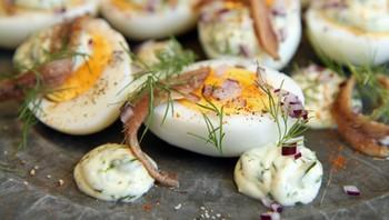 Egg og ansjos