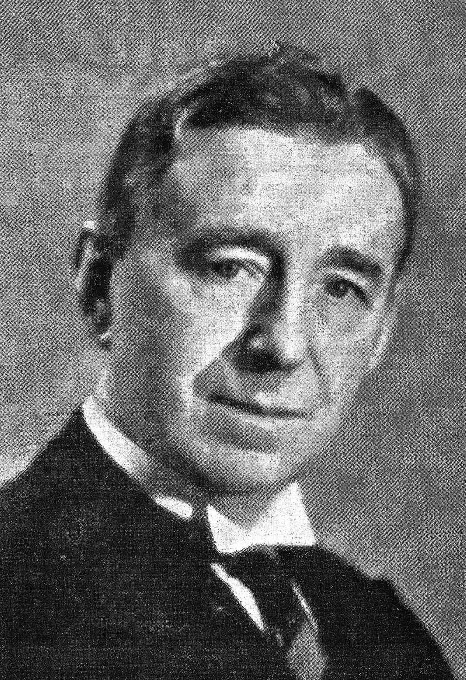 Riksprogramrådets leder gjennom 1930-tallet, fysikkprofessor Sam Sæland.