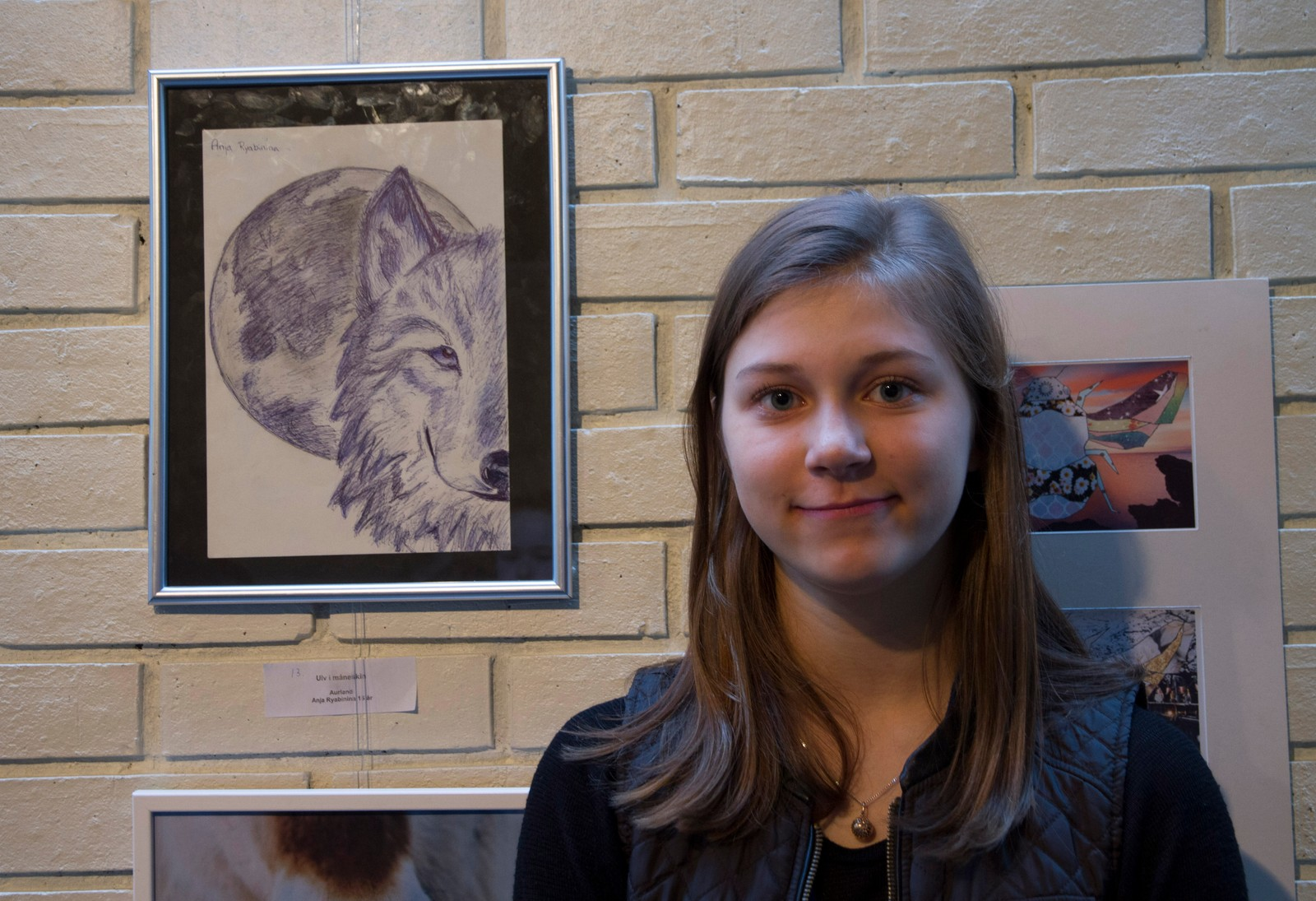 "AURLAND: Anja Ryabinina - ""Ulv i måneskinn"""