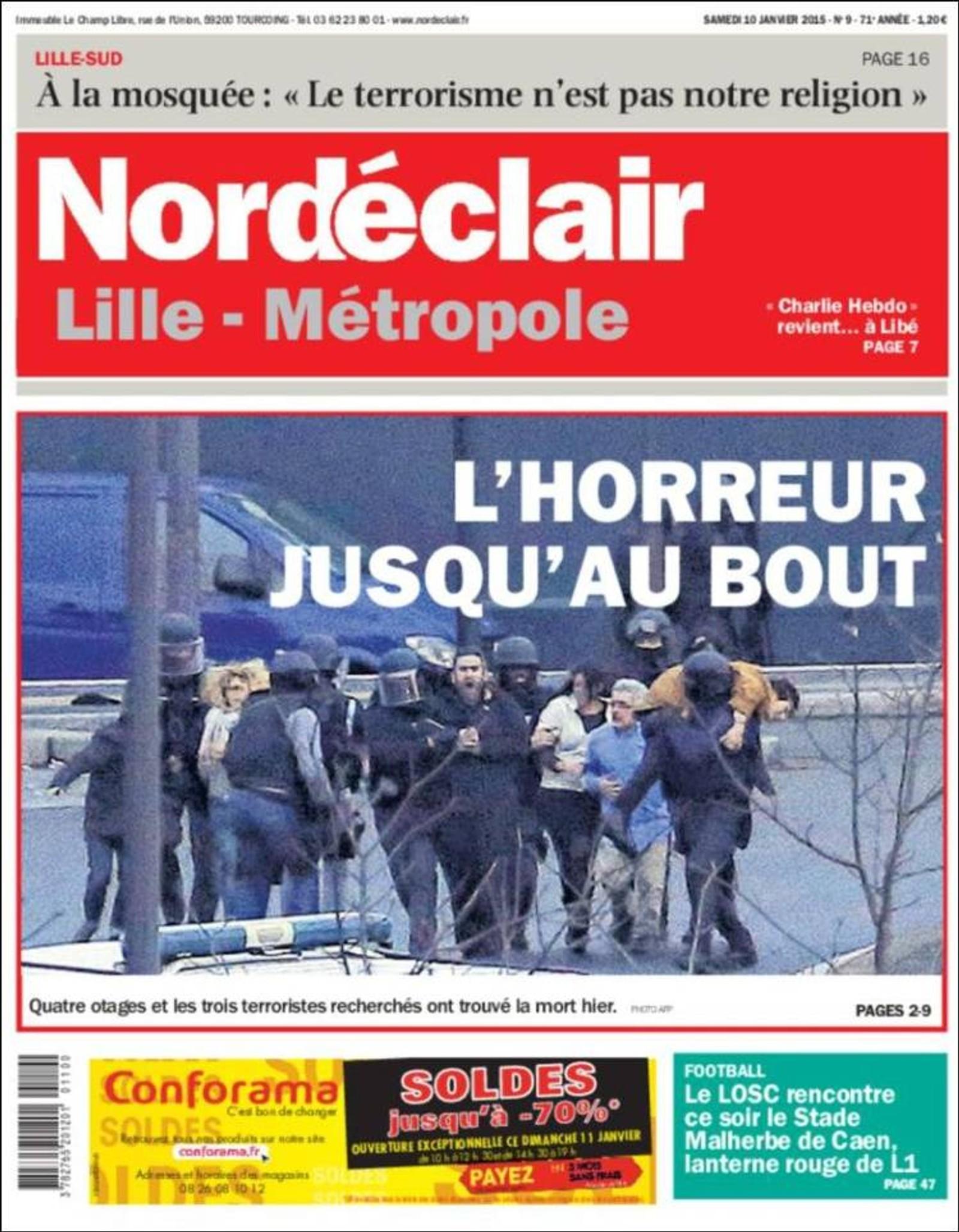Nord Éclair, Lille: Skrekken nesten over.