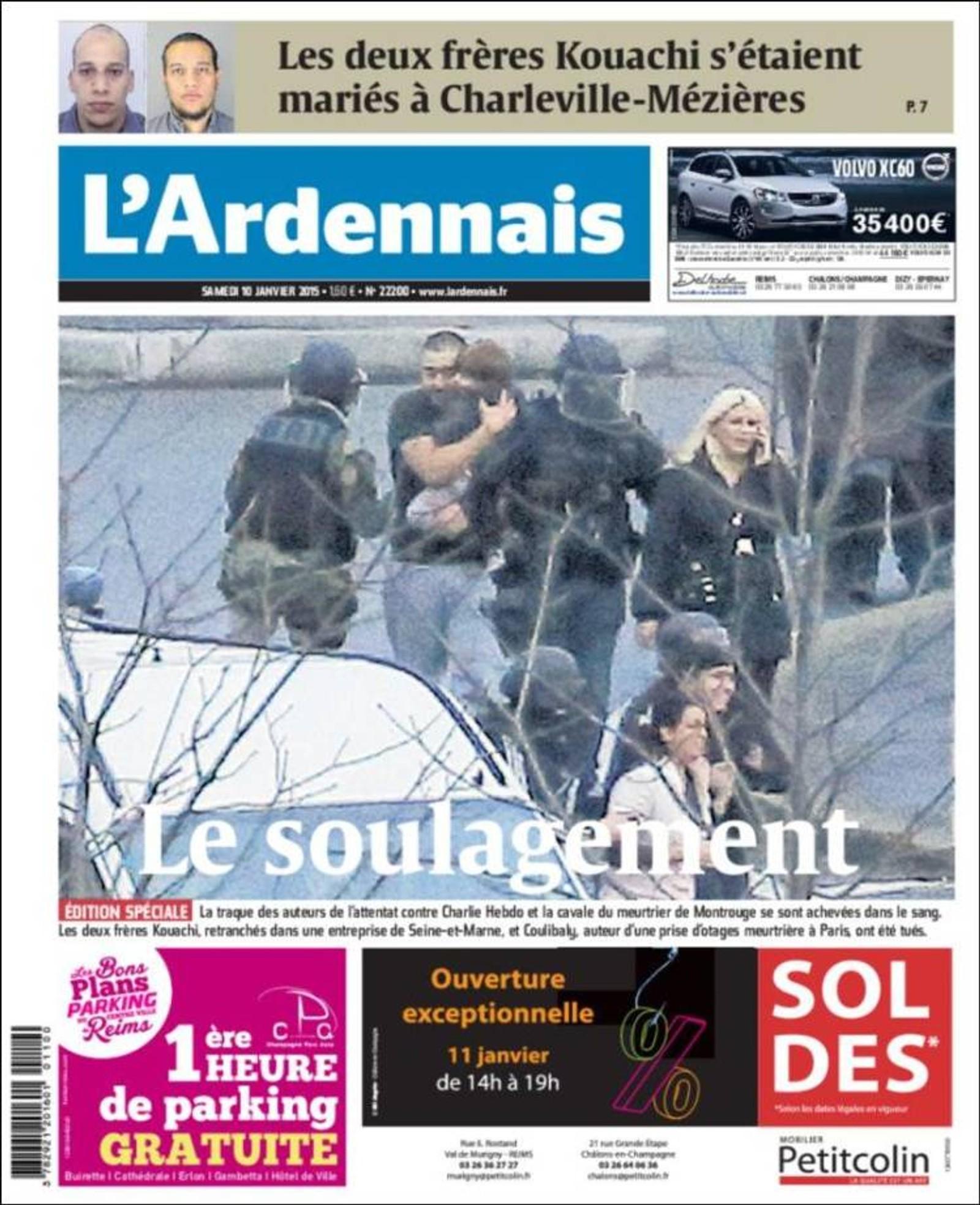 L'Ardennais: Lettelsen.