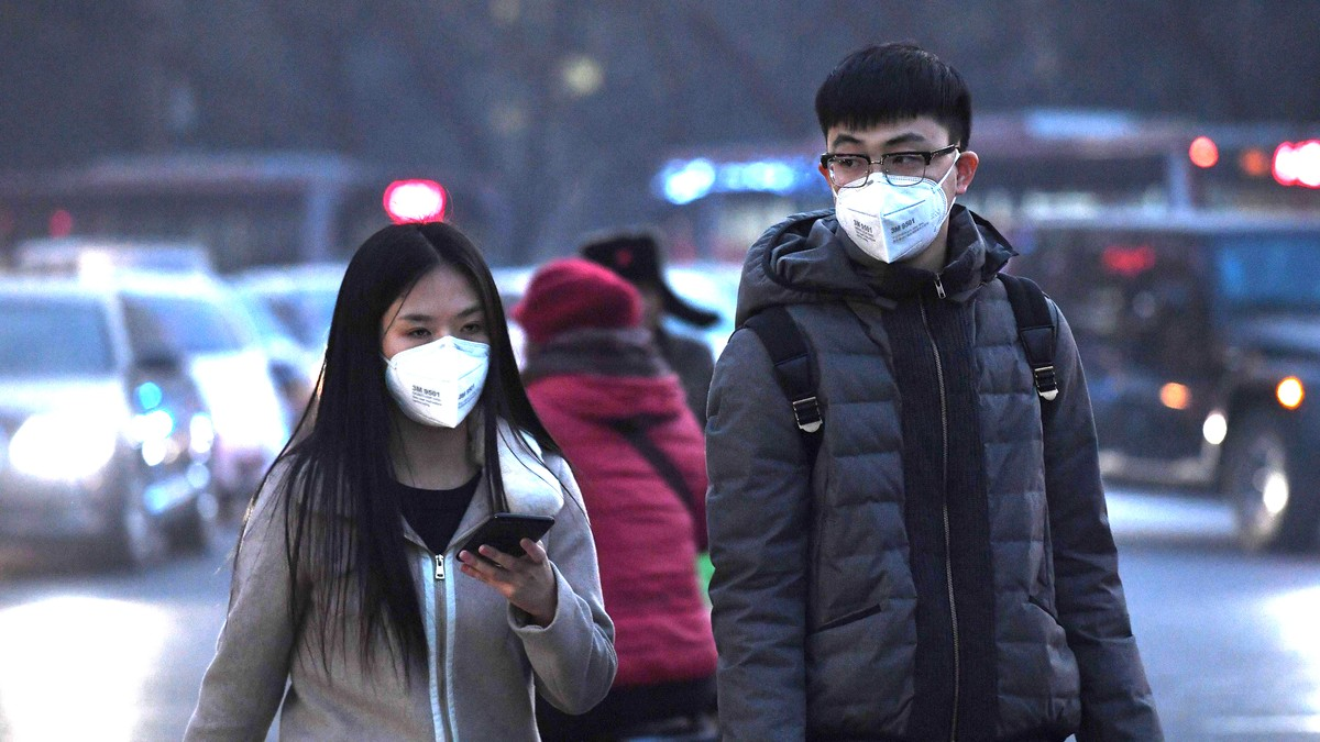 Kina stanser meteorologenes smog-varsler