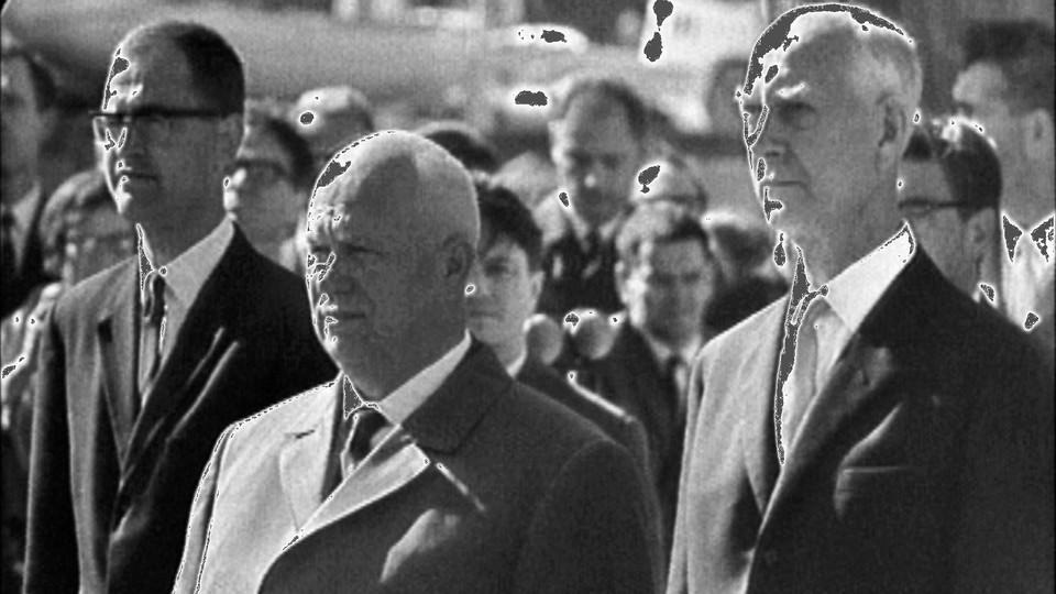 Statsminister Nikita Khrustsjov kommer til Norge