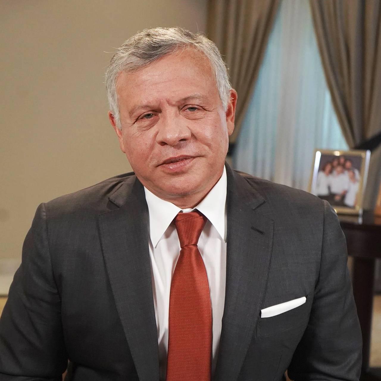 Bilde av Jordan: Kong Abdullah II