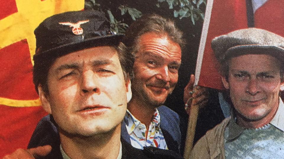 Spreng Norges morsomste menn i luften