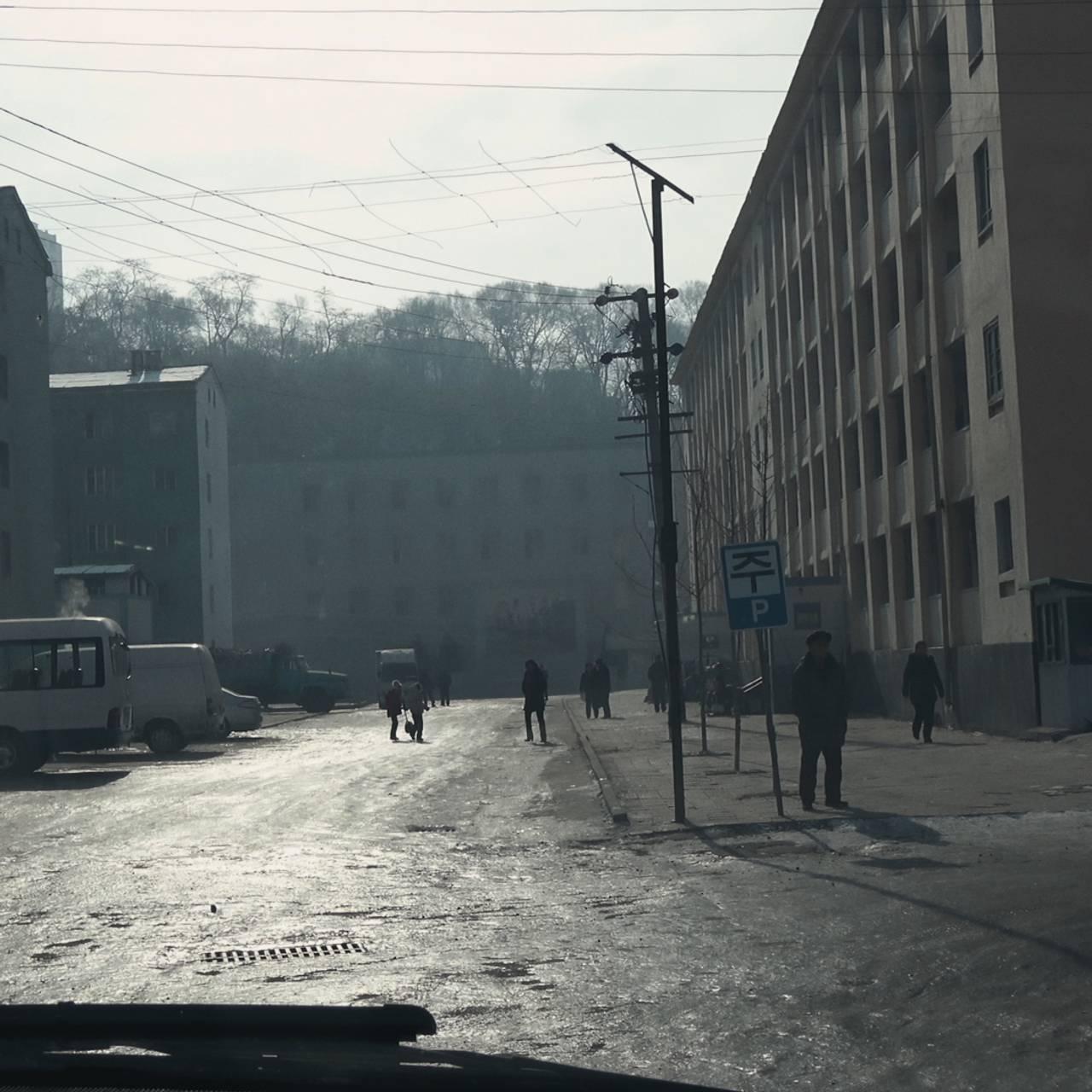 EHAM k3 - bildesveip fra bilturen i Pyongyang del 2