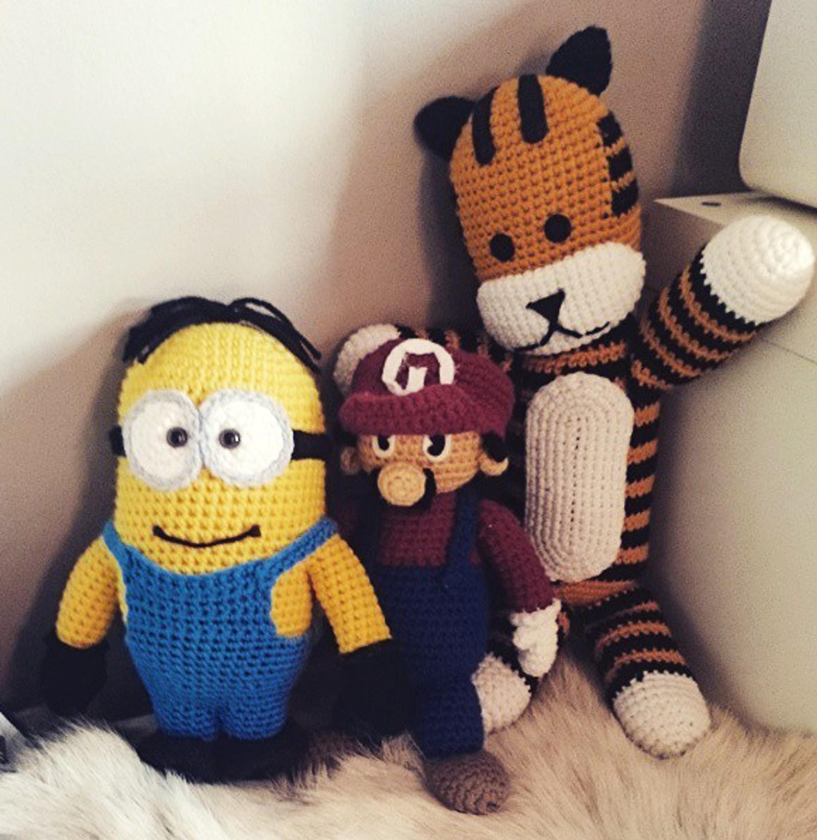 «Totoro», «Mario», «Tiger».