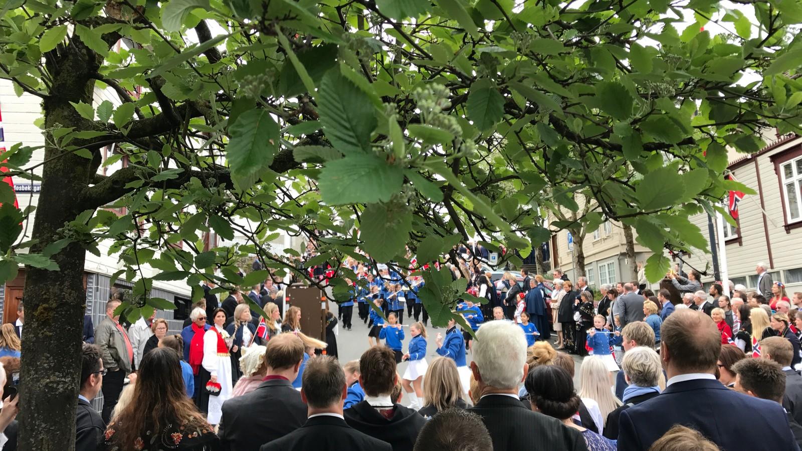 17. mai-feiring i Egersund.