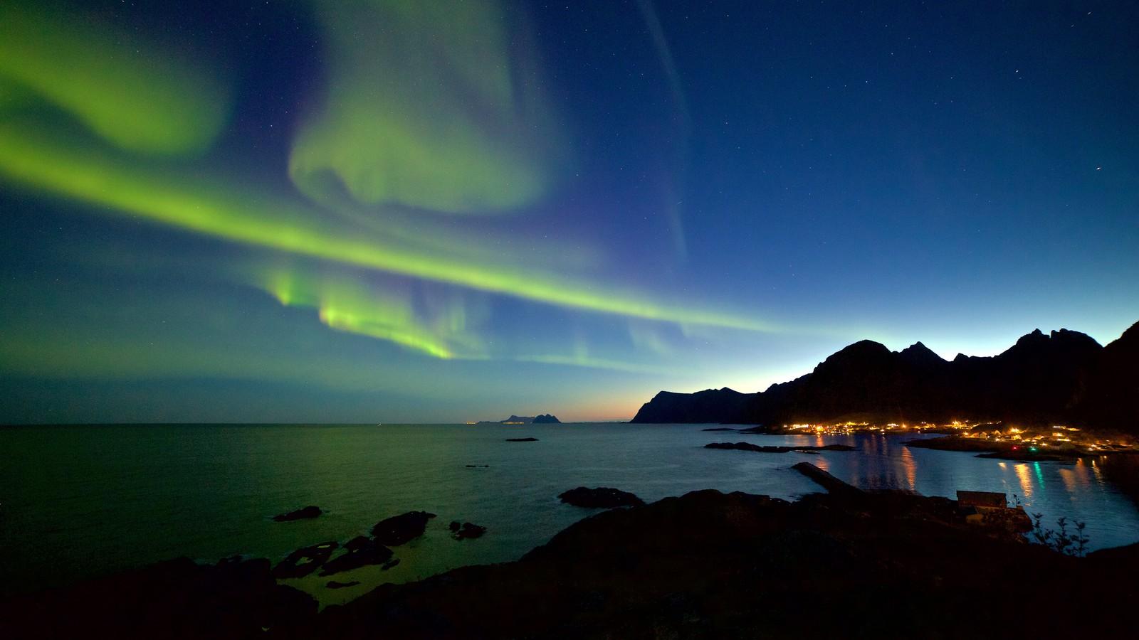 Fra Sørvågen i Lofoten