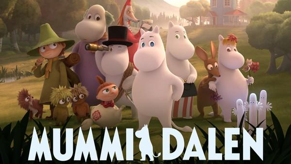 Mummitrollet tar oss med på eventyr i den magiske Mummidalen.Finsk/britisk animasjonsserie.
