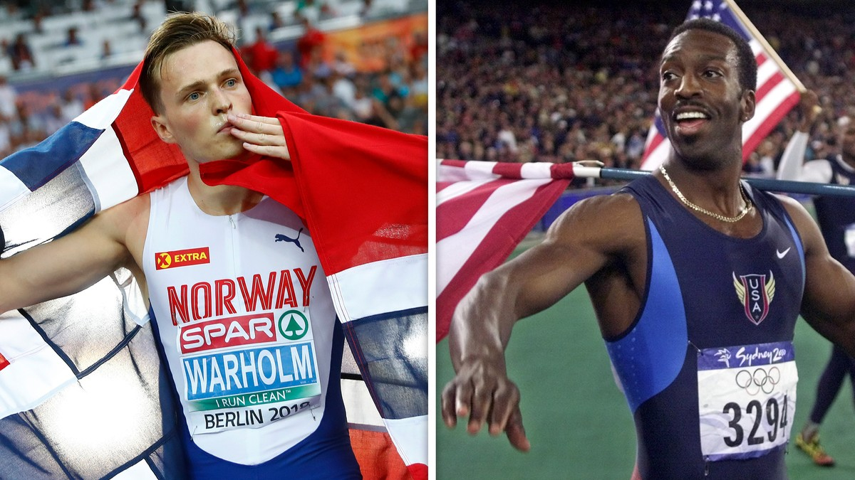 Amerikansk sprintlegende om Warholm: – Imponerende at han er der oppe hele tiden