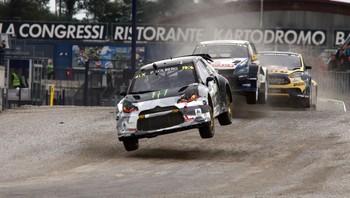 Petter Solberg Rallycross Milano