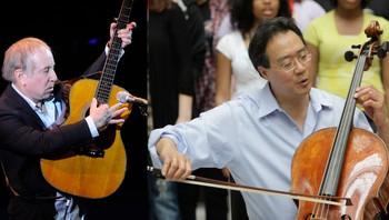 Paul Simon og Yo-yo Ma