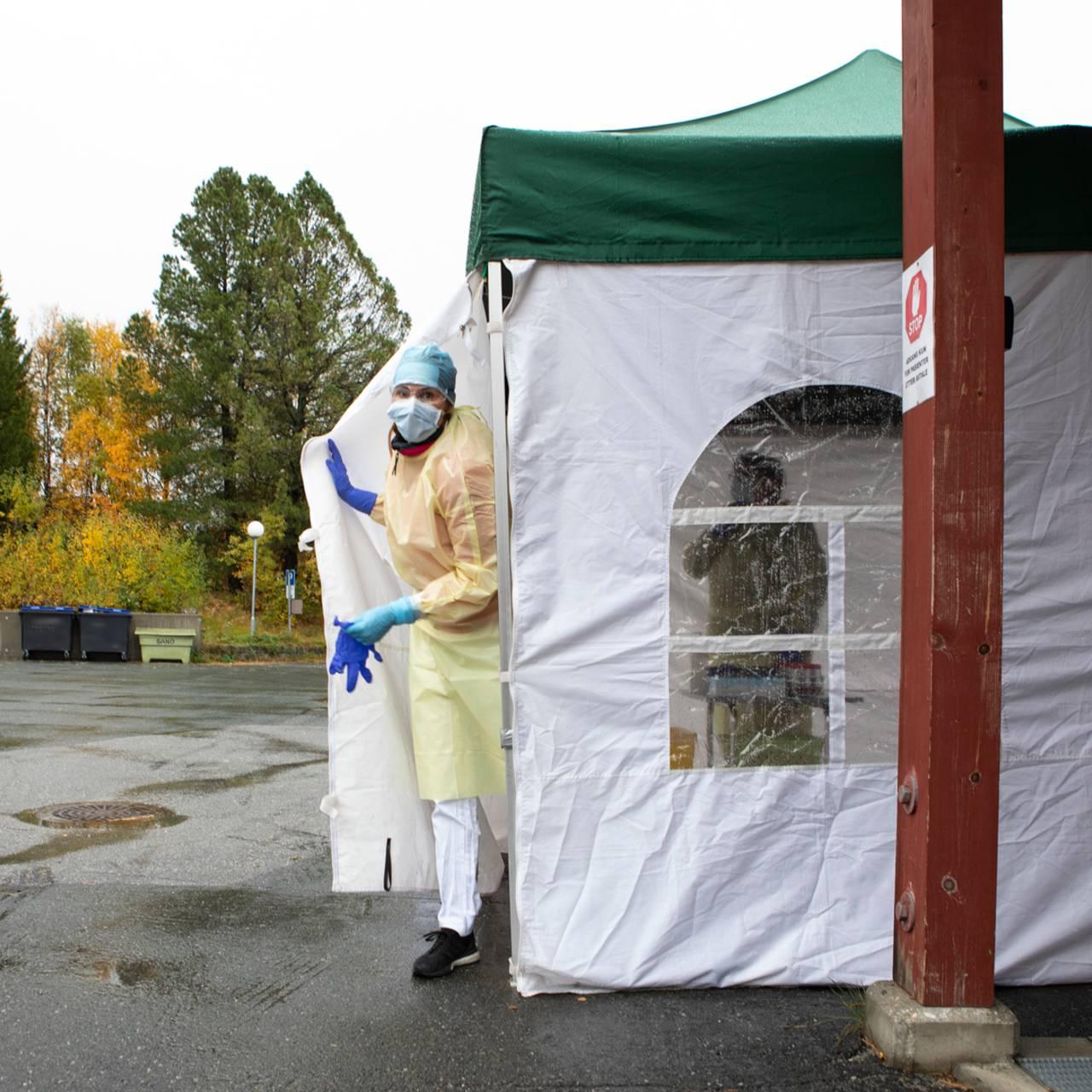 Test-teamet i Røros kommune er straks klare
