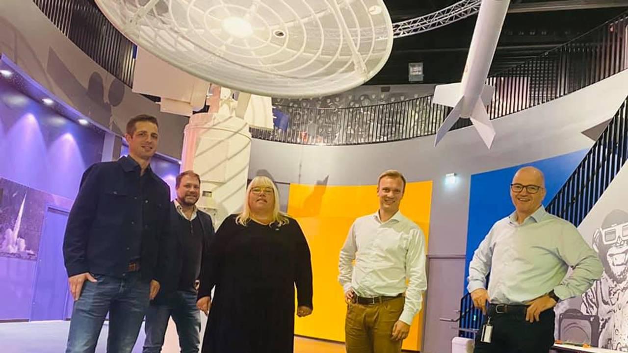 Bård Ludvig Thorheim på Andøya Space Center