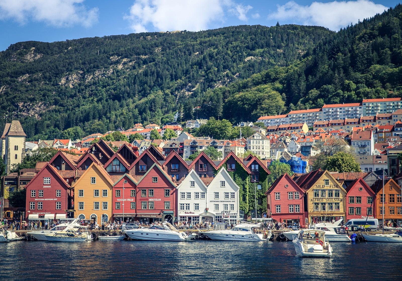 Bergen er 3. mest søkte feriedestinasjon for turister fra Europa, Midtøsten, Afrika og Nord-Amerika, ifølge en søkerstatistikk fra Hotels.com.