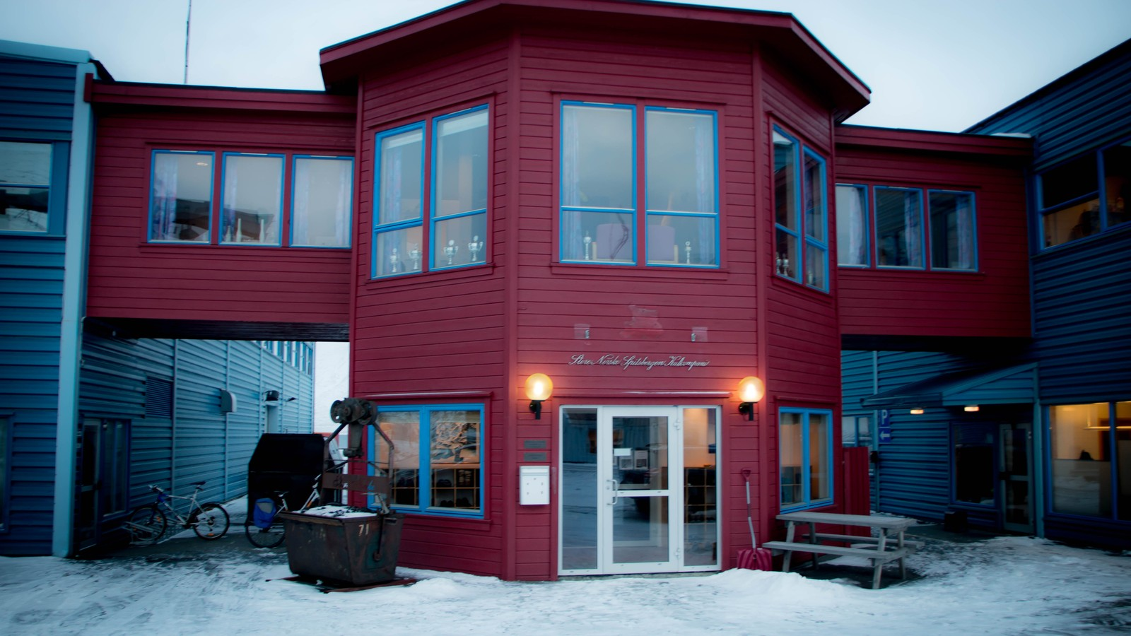 Administrasjonen i Store Norske Kullkompani.