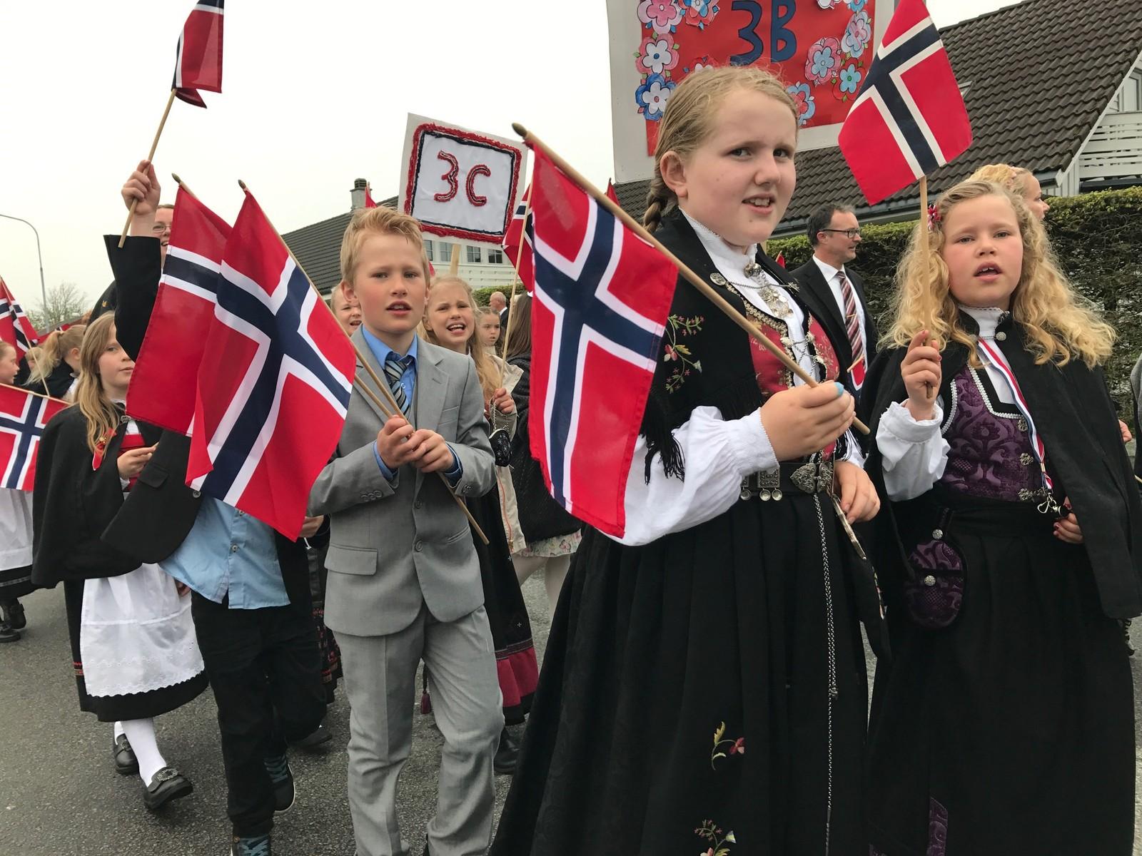 Barnetog på Ganddal i Sandnes.