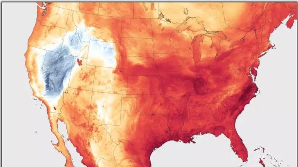 Hetebølge US - Foto: NOAA Environment