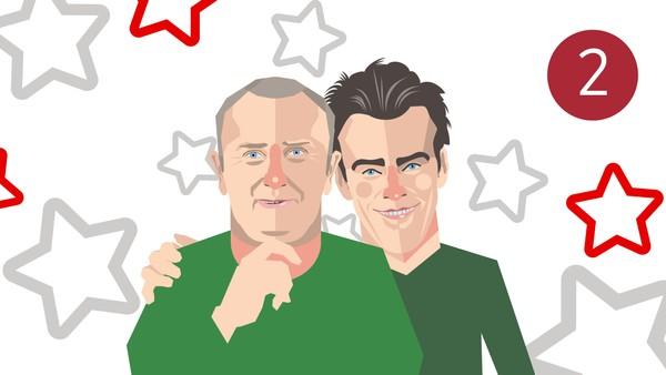 Gullestad inviterer Jonas til jul i Singelklubben