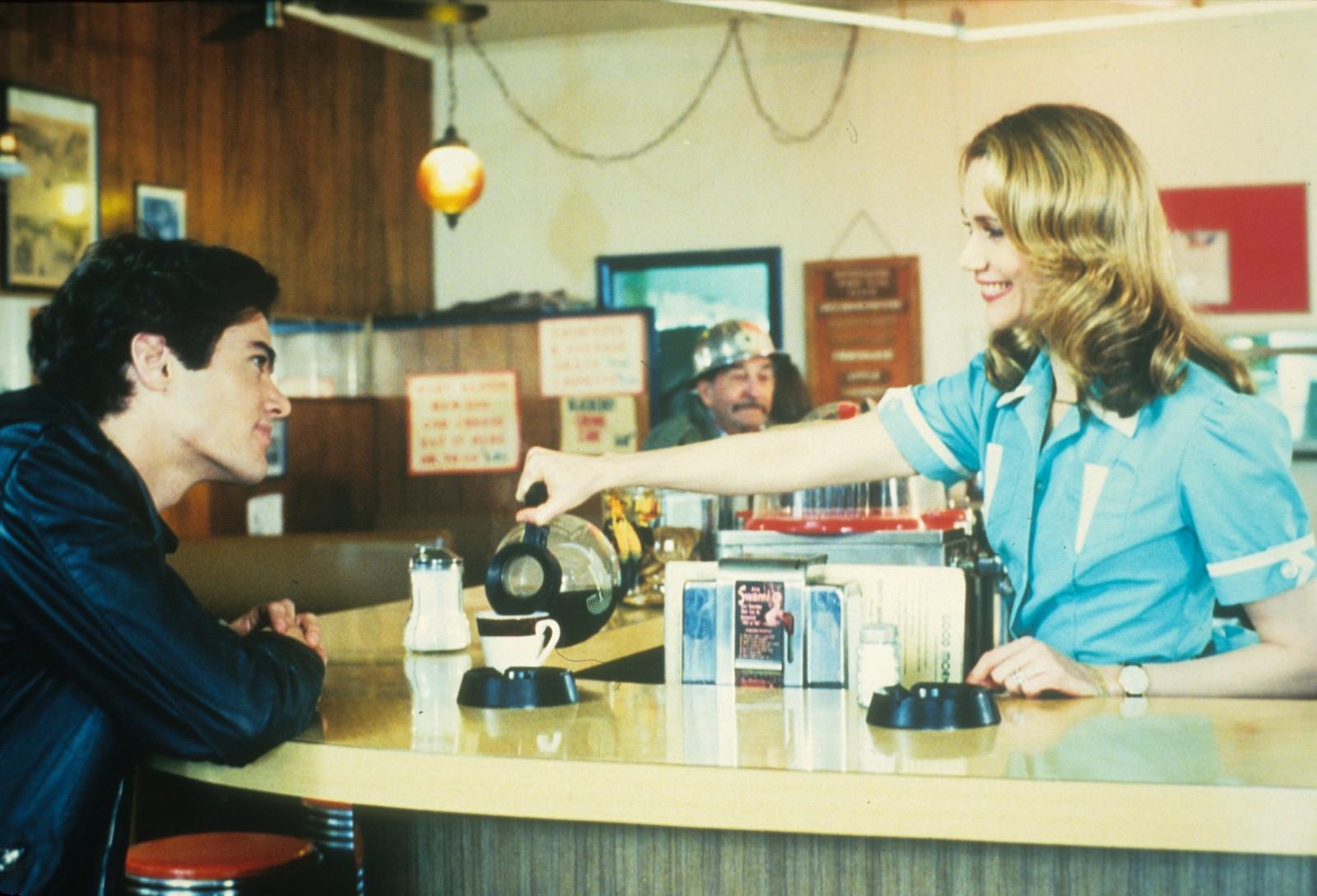 Norma Jennings og Bobby Briggs på Double R Diner