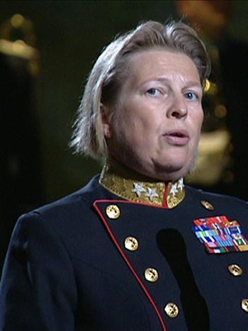 Generalinspektør for Heimevernet, Kristin Lund.