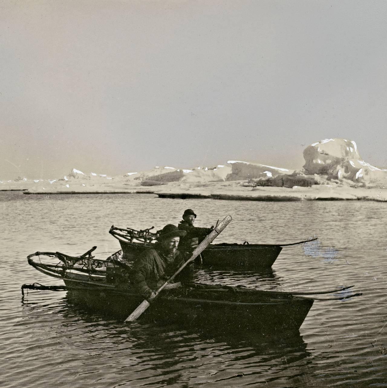 Fridtjof Nansen og Hjalmar Johansen