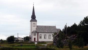 Nordbotn kapell på Fjellværøy