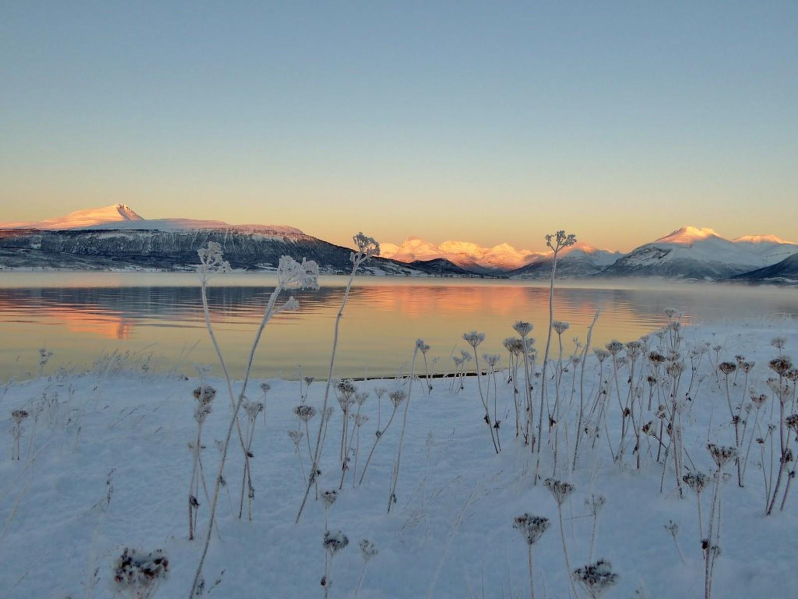 Stille og klarvær i Balsfjord.