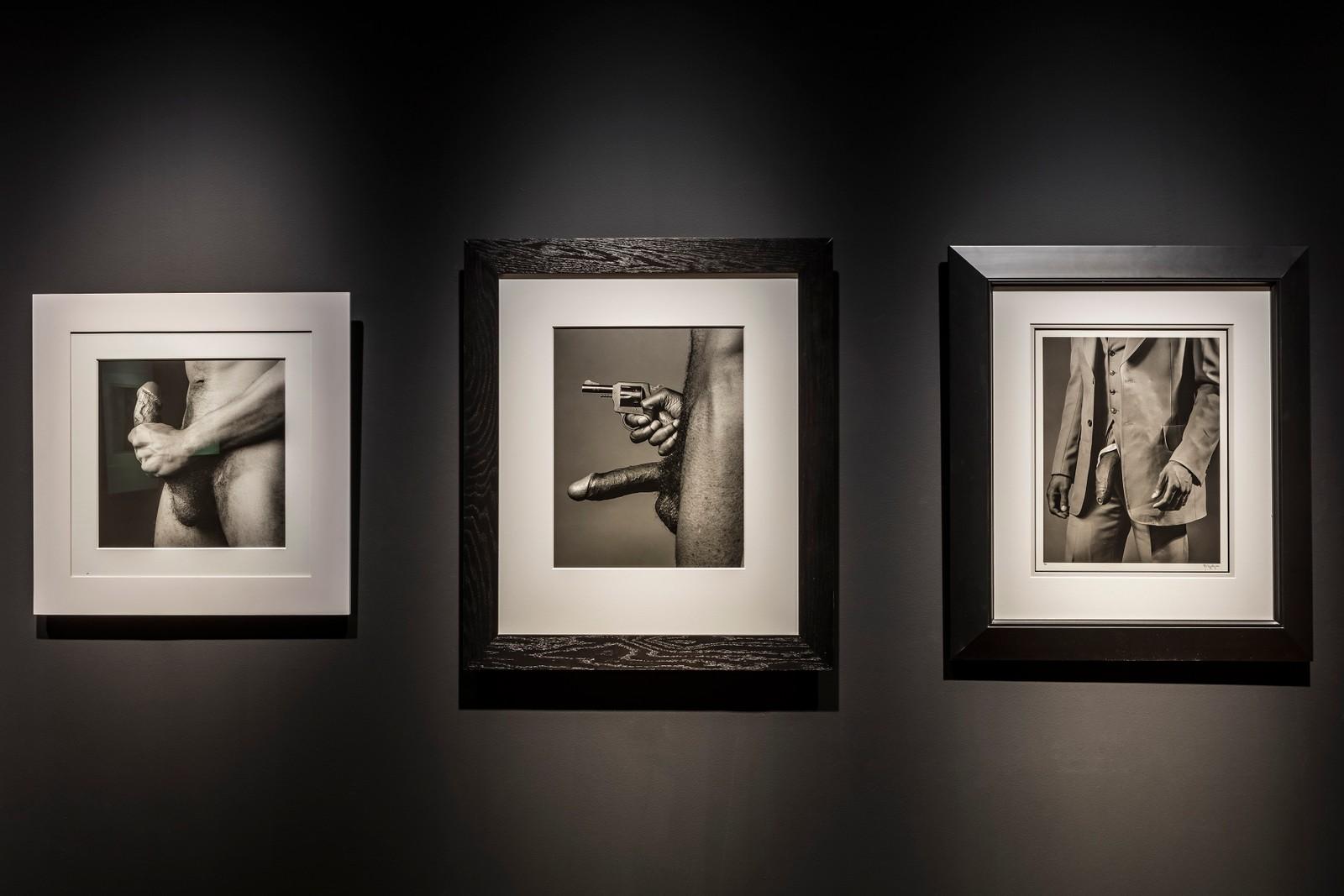 Mapplethorpes bilder fra utstillingen