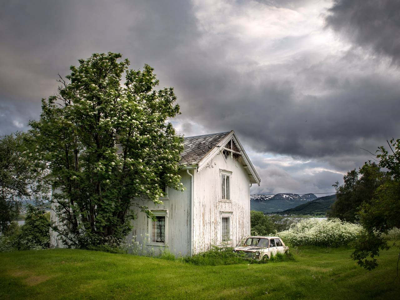 forlatt hus