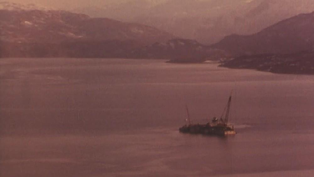 Skånevikfjord in 1978