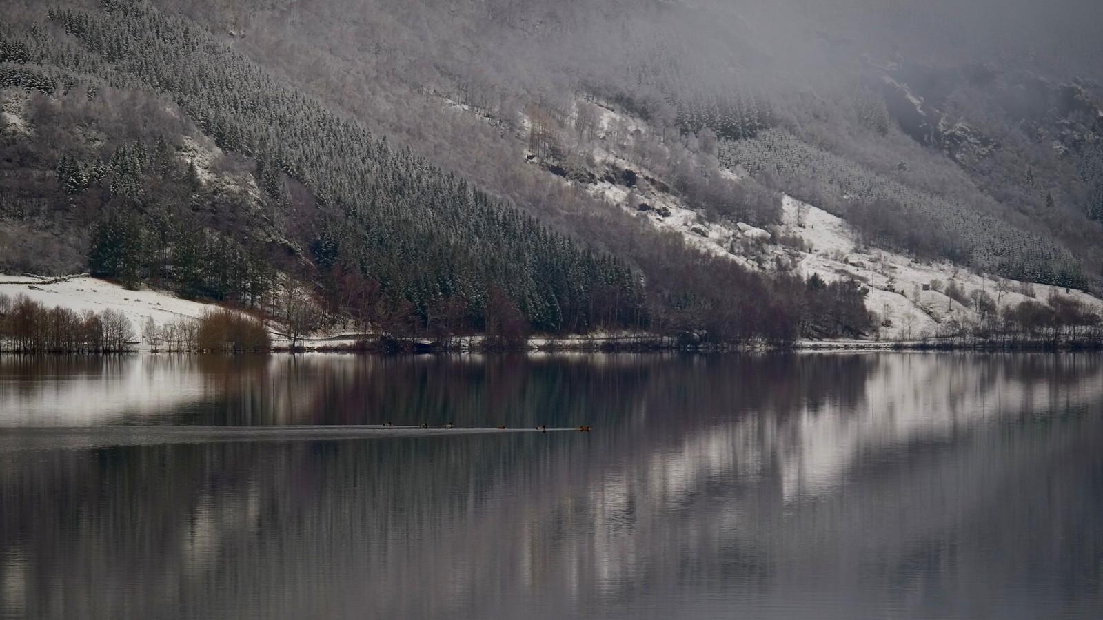 Gjerdedalsvatnet i Vindafjord.